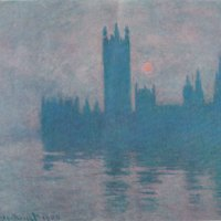 Claude Monet, Le Parlement, 1904, huile sur toile, 80x91 cm, Krefel, Kaiser Wilhem museum