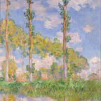 Claude Monet, Les trois arbres, été, 1891, huile sur toile, 92 × 73,5, Tokyo, The National museum of western art